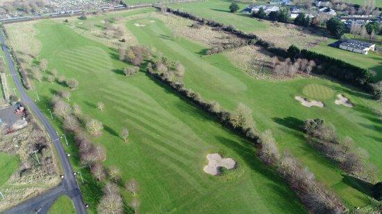 Rathbane Golf Course: shot 14th,15th,16th.