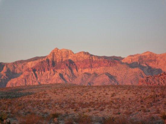 Red Rock morgens um 5:30