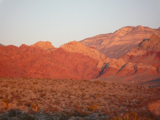 Red Rock morgens um 5:30