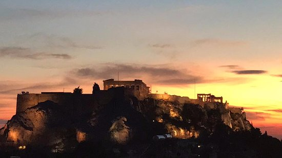 New Hotel: Acropolis views