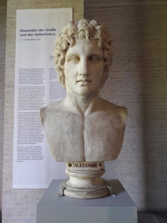 Glyptothek: Alexander the Great
