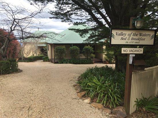 Wentworth Falls, Αυστραλία: B&B entrance
