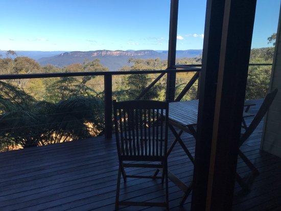 Wentworth Falls, Australien: Cliff View room deck