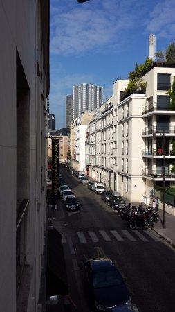 Beaugrenelle Tour Eiffel: Vista do nosso quarto