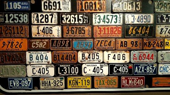 Wickenburg, AZ: Plaques d'immatriculation Arizona