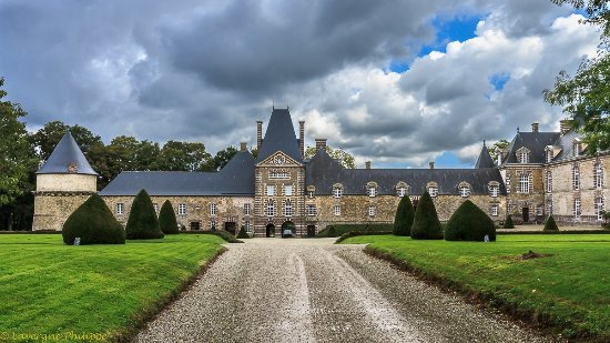 Chateau de Canisy Canisy France