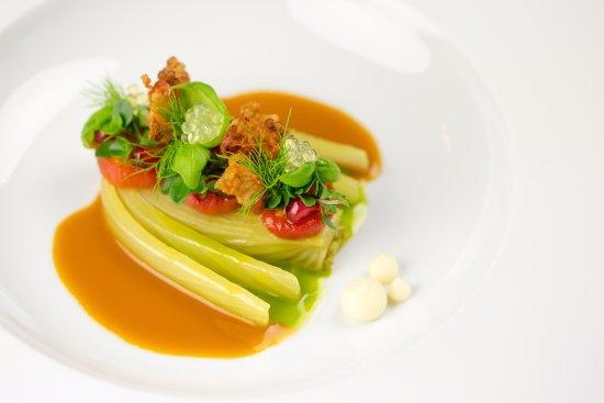 Lorenz Adlon Esszimmer: Fenchel / Tomate / Zitrone