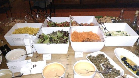 Pestana Bahia Praia: Pestana Bahia : buffet entrées