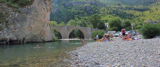 Sainte-Enimie, Γαλλία: Le pont de Sainte Enimie