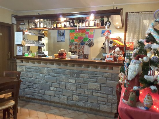 Vetto, Italia: Zona bar