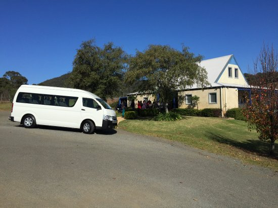 Newcastle, Australië: Mini Bus Service to Hunter Valley Wineries