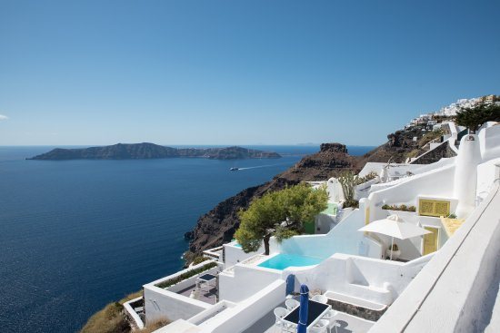 Dreams Luxury Suites: view from terrace