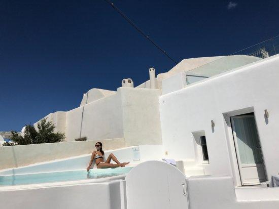 Dreams Luxury Suites: private pool and jakuzzi