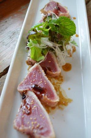 Red Snapper : Seared Tuna carpaccio