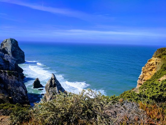 Walk Hike Portugal: Beaches from the cliff.