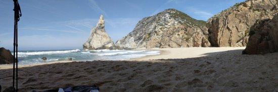 Walk Hike Portugal: Cliffs from the beach.