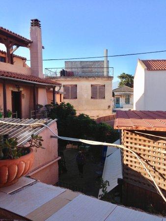Pazinos Village Studios: Blick von unserem Balkon