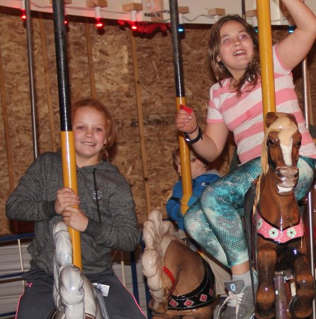 Shelby, MT: Who doesn't love a good carousel ride?