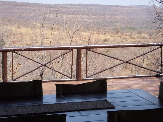 Nungubane Game Lodge: Great views
