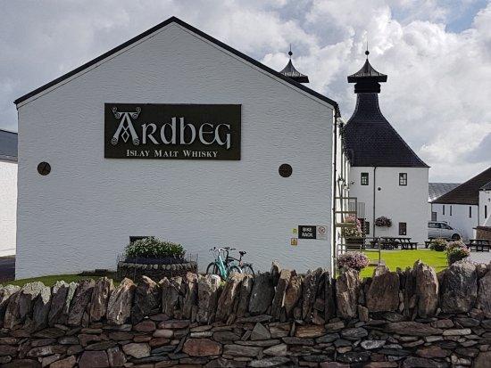 Ardbeg Distillery: Main Distillery building