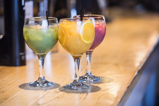 Our new smoothies, available on Sunday mornings. The perfect hangover cure!