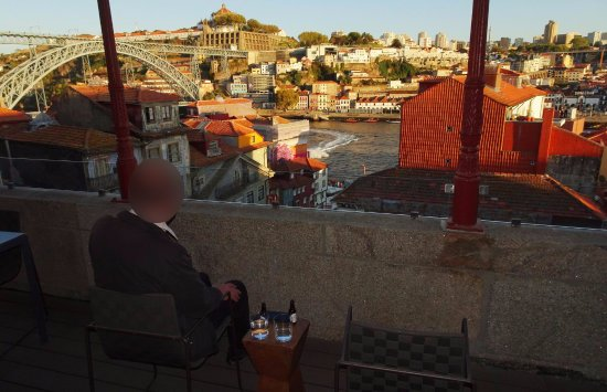 Carris Porto Ribeira: View from Deluxe suite #401