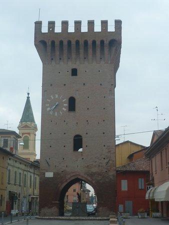 Torrazzo e centro di Piumazzo