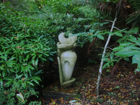 Tremenheere Sculpture Gardens: A surprise around every copse.