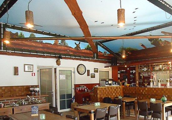 Horst, Pays-Bas : Het restaurant binnen.