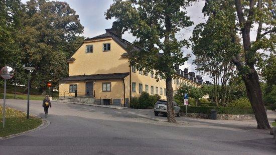 Hotel Skeppsholmen: The west end of the hotel