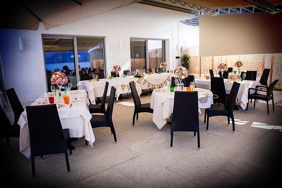 Wedding Set up at Al Corsaro