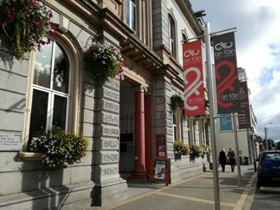 Dundalk, Ireland: An Táin Arts Centre, based in the former Táin Theatre, Town Hall, Crowe Street.