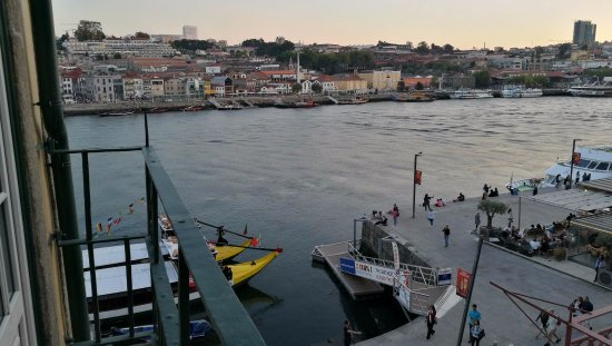 Pestana Vintage Porto : Sunset from Vintage Grand View Balcony #306