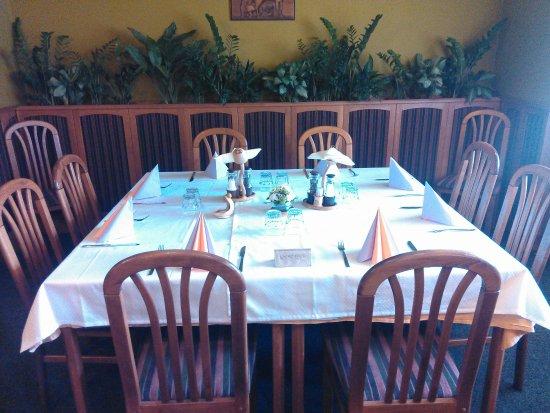 Tetcice, République tchèque : dinning table