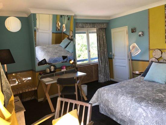 Cricqueboeuf, France: Dernière chambre double supérieure rénovée