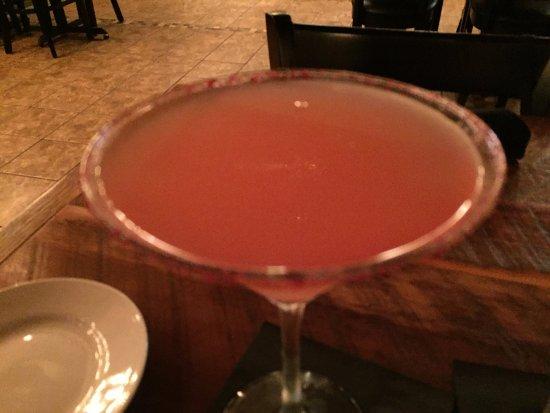 Leesburg, FL: watermelon martini