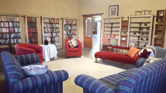 Northern Cape, South Africa: The library in the main house