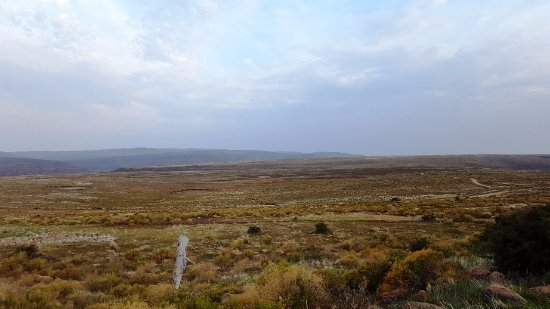 Northern Cape, South Africa: View from the terrace