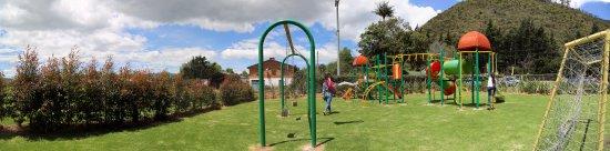 Tenjo, Colombia: Parque infantil
