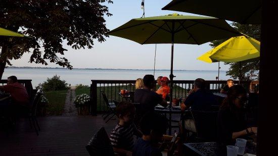 Erieau, كندا: Outside deck
