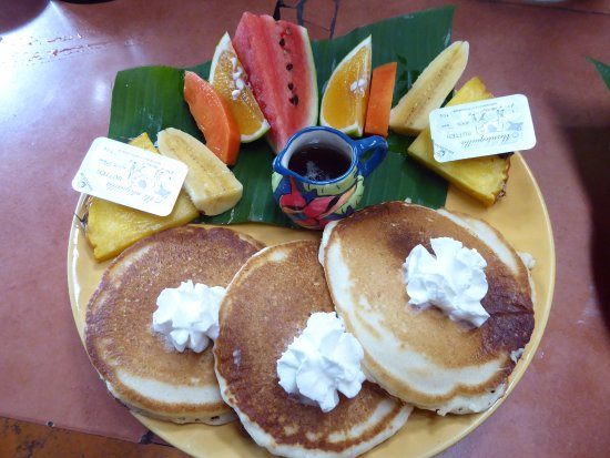 Nuevo Arenal, Costa Rica: Pancake Special