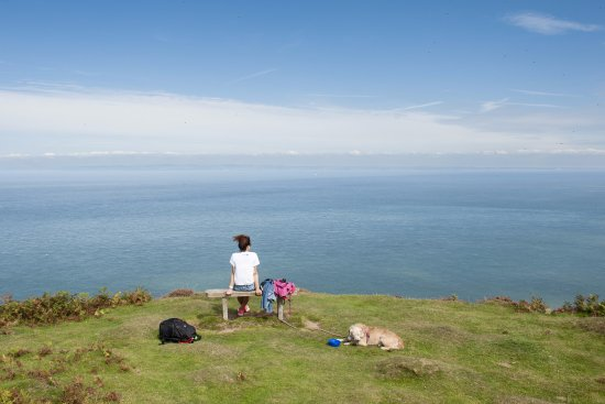 Lynmouth, UK: Foreland Point