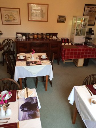 Askrigg, UK: THE BREAKFAST ROOM