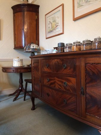 Askrigg, UK: BREAKFAST ROOM