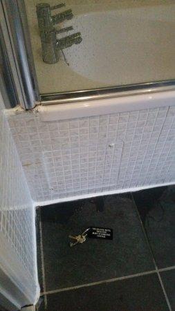 Thurston, UK: Shower leaking all over the floor