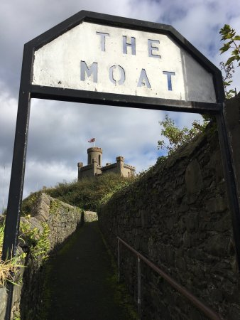 Donaghadee, UK: The Moat