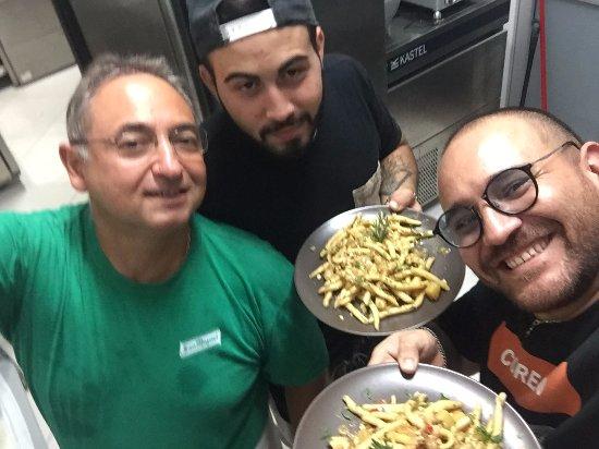 Floridia, İtalya: il nostro nuovo chef e uno dei suoi nuovi primi