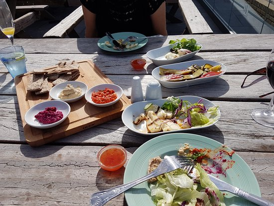 Westgate-on-Sea, UK: Mezze for two