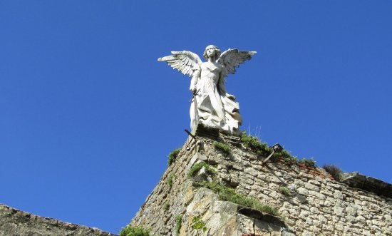 Cementerio de Comillas: El Angel Guardian