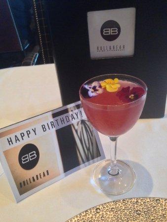 Waldorf Astoria Orlando: My Birthday Cocktail! French Garden. Perfect!